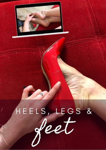 legs heels feet